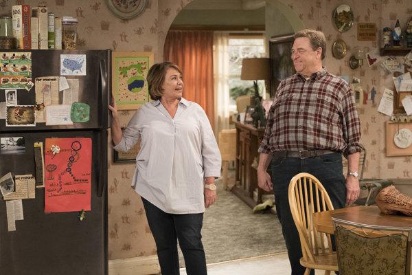 Roseanne Barrová a John Goodman v nových častiach Roseanne.