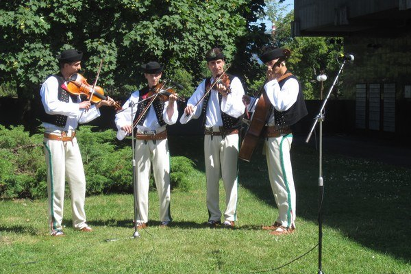 Muzikanti z Terchovej.