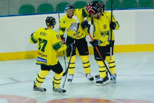 Žilinskí hokejisti vyhrali tretí duel v rade.
