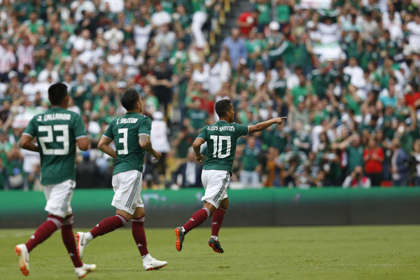 Mexiko ide na MS vo futbale s vysokými ambíciami.