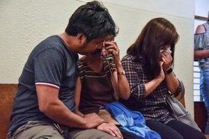 Rodina Filipínca Hneryho na súde.