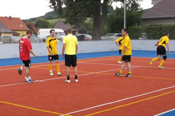 Na futbalovom turnaji sa predstavilo celkom desať tímov