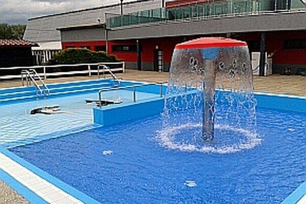 Detský bazén je zrekonštruovaný.