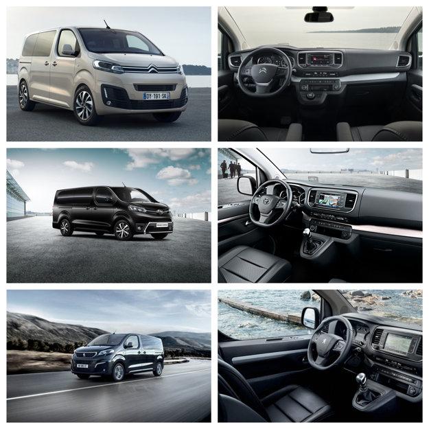 Citroen SpaceTourer, Toyota Proace Verso, Peugeot Traveller