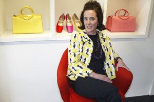 Dizajnérka Kate Spadeová. V Amerike zmenila definíciu kabelky.