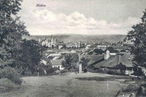 Pohľad na Košice z Hliníka.