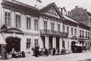 Dessewffyho palác na Hlavnej ulici.
