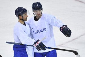 Miloš Bubela (vpravo) absolvoval aj ZOH v drese slovenskej reprezentácie.
