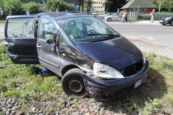 Vodička Fordu vyviazla len s ľahkými zraneniami.