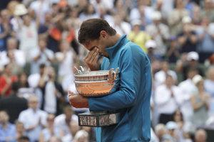 Rafael Nadal neudržal slzy.