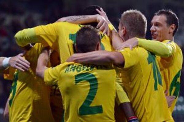 Trikrát sa žlto-zelení v sobotu takto radovali.