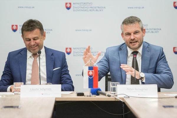 Minister životného prostredia Slovenskej republiky László Sólymos.