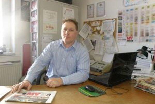 Richarda Vašečku sme tri dni po voľbách privítali v redakcii MY Žilinských novín.