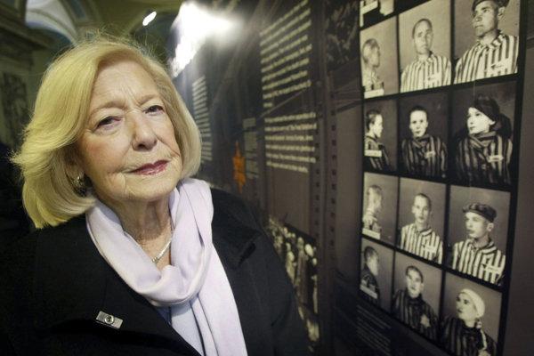 Gena Turgelová bola v štyroch koncetračných táboroch. V Bergen-Belsene sa starala o chorú Annu Frankovú.