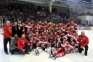 Hokejisti Miškovca na ilustračnej fotografii.