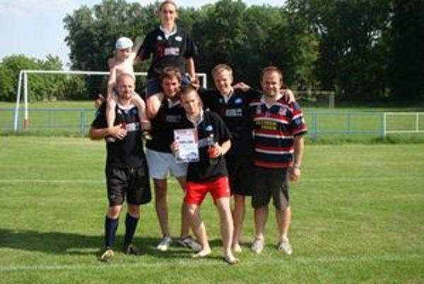 Žilina Bears rugby tím.