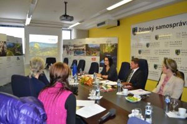 Krajská organizácia na tlačovej konferencií informovala o svojich aktivitách.