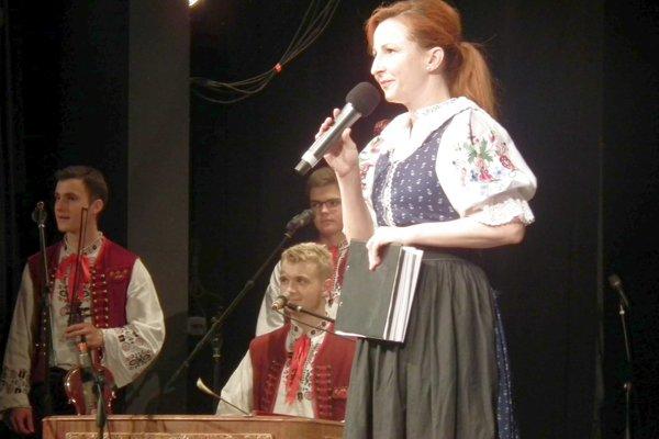 Moderátorka Mirka Martináková.