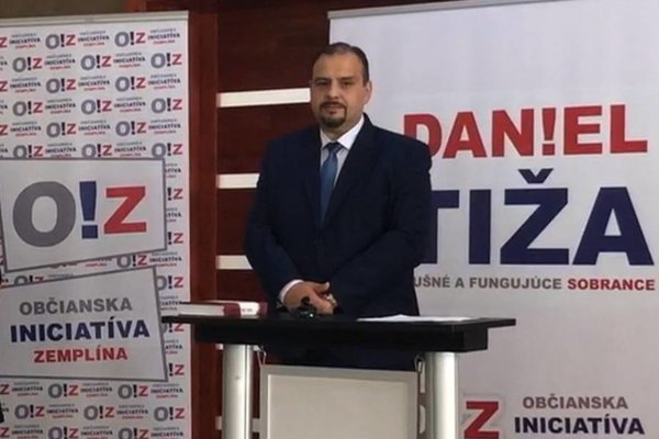 Daniel Tiža predstavil svoju kandidatúru.