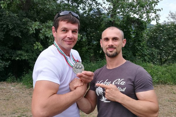 Peter Spusta (vľavo) a Gabriel Harčarik.