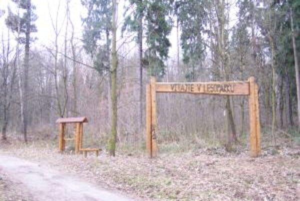 Mesto plánuje na revitalizáciu lesoparku vytvoriť nadáciu.
