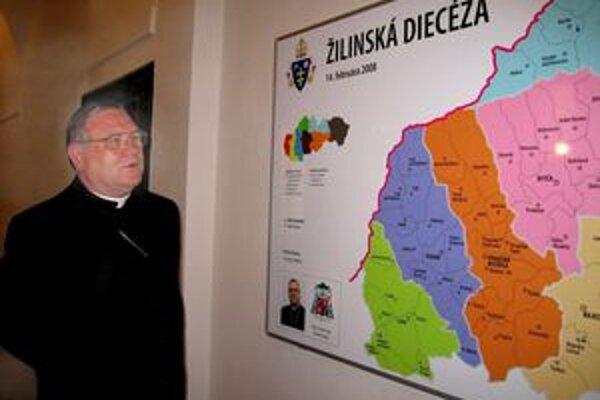 Biskup Tomáš Galis.