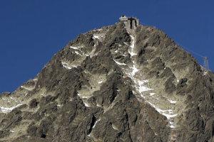 Lomnický štít, výška 2634 metrov.