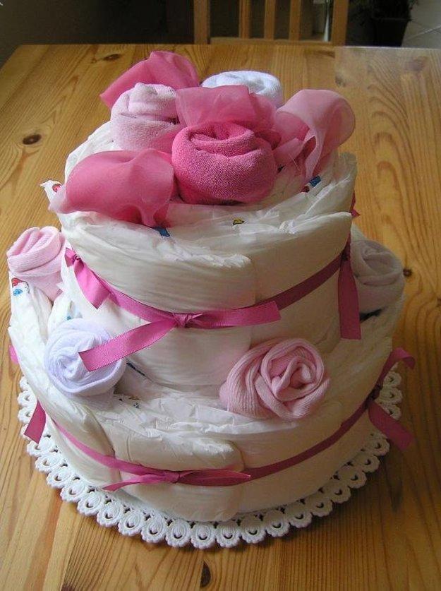 Aj takto môže vyzerať plienková torta.