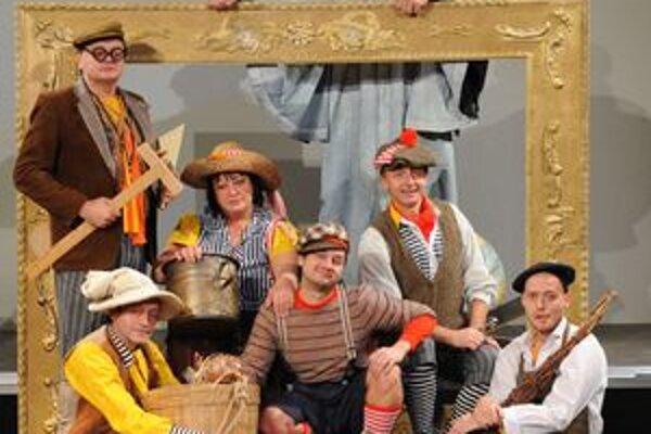 V týchto kostýmoch sa vám predstavia herci Mestského divadla v Žiline v novej rozprávke Malý Leonardo.