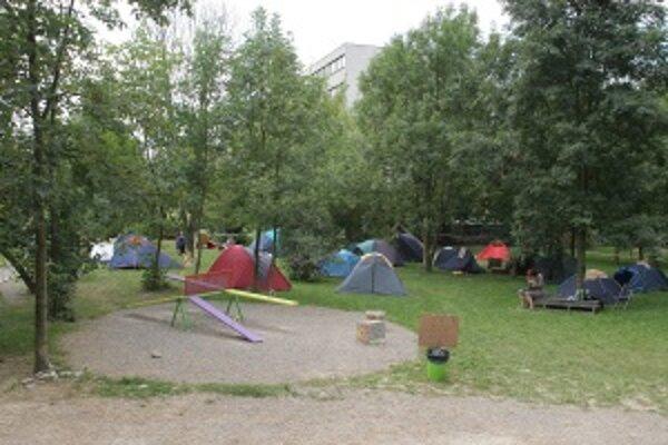O priazeň Žilinčanov sa uchádza aj projekt Kemping pod Rondlom.