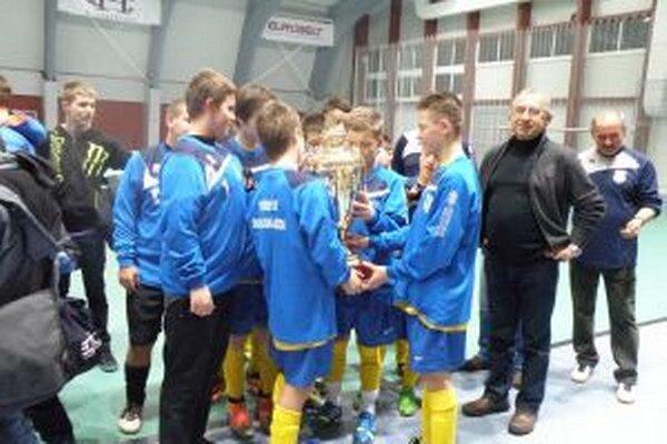 Víťazný tím Dunajskej Stredy.