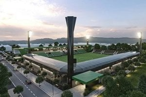 Takto by mal vyzerať nový štadión v Prešove.