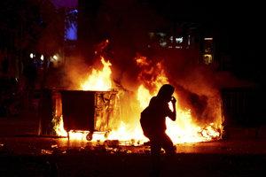Protesty proti Macedónsku v Solúne prerástli do násilností.