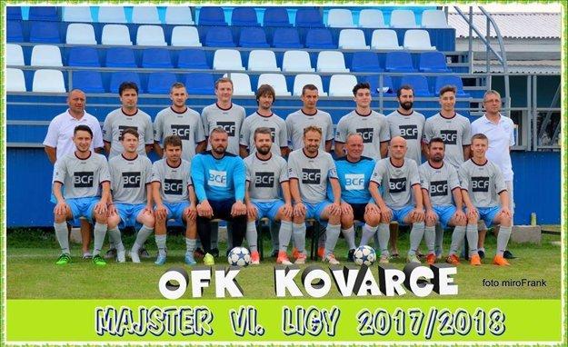 OFK Kovarce - víťaz VI. ligy ObFZ Topoľčany.