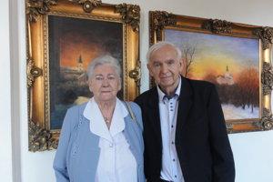 Ladislav Švihel so svojou sestrou Emíliou Domanickou.