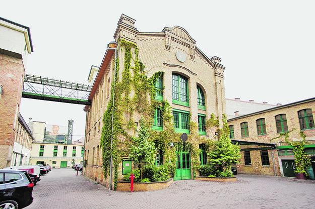 Fabrika na výrobu horkého likéru Unicum je priamo v centre Budapešti.