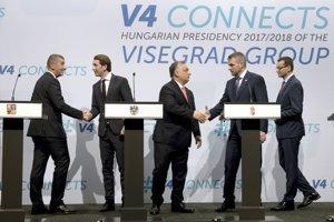 Stretnutie visegrádskych lídrov a rakúskeho premiéra v Budapešti.