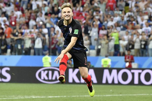 Ivan Rakitič patrí k hviezdam chorvátskej reprezentácie.