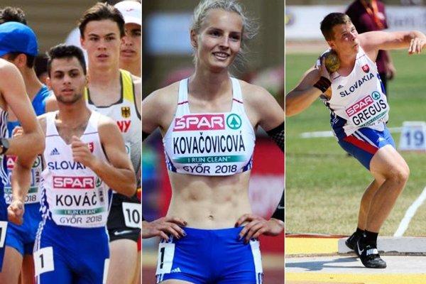 Zľava Daniel Kováč, Lenka Kovačovicová a Jaroslav Greguš.