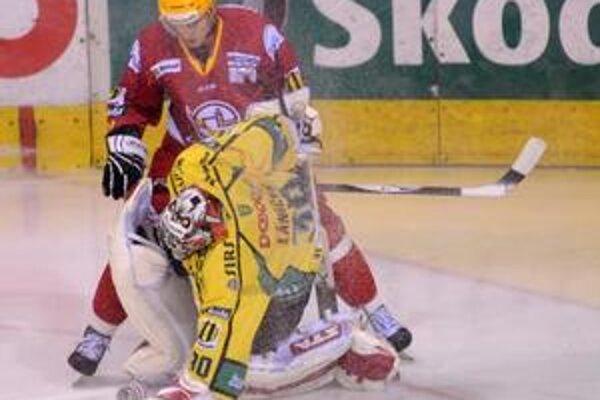 Žilina prehrala v Trenčíne na samostatné nájazdy.