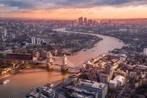 Jedno z najkrajších kráľovských miest je bezpochýb aj Londýn