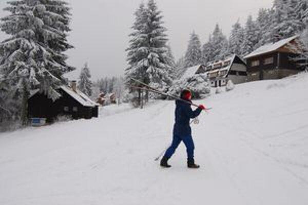 V kysuckej obci Makov už sa lyžuje.