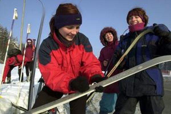 Bežkári zo Žiliny a okolia si už môžu začať voskovať lyže.