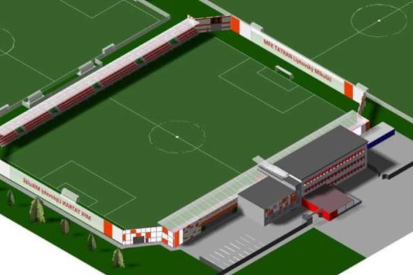 Kapacita futbalového štadióna sa po rekonštrukcii zvýši na 1700 miest. Celkové náklady sú 1,25 milióna eur. Zväz prispeje sumou 750-tisíc eur, mesto Liptovský Mikuláš 375-tisíc eur aklub zvlastného rozpočtu 125-tisíc eur.