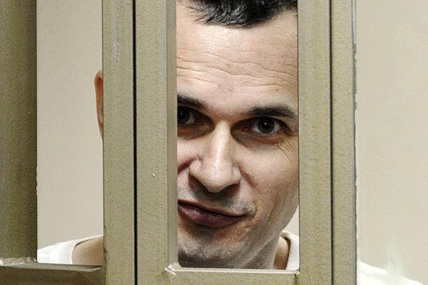 Ukrajinský režisér Oleg Sencov.