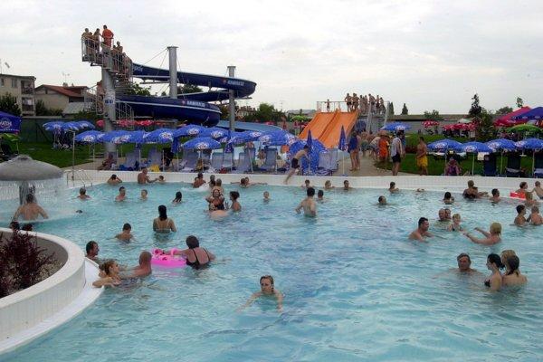 Do areálu Slnečných jazier patrí aj rekreačno-relaxačné centrum Aquathermal.
