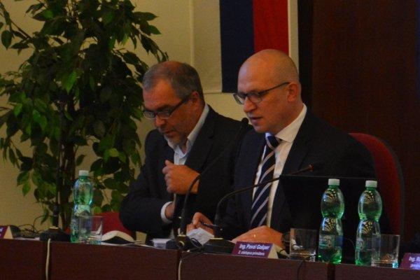 Igor Wzoš (vľavo) a Jozef Švagerko.