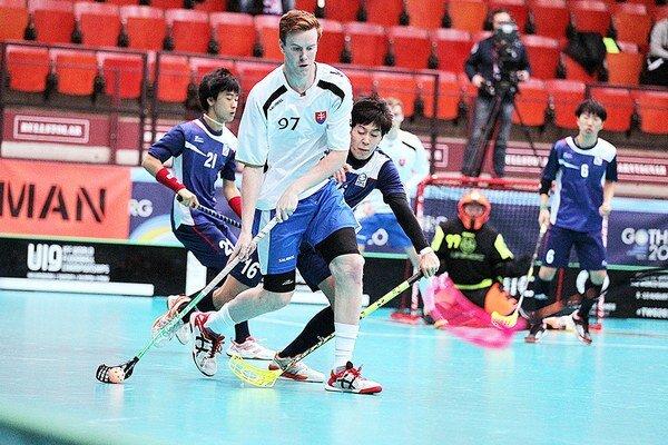 Rodák z Nižnej (v bielom) strelil na majstrovstvách sveta štyri góly.