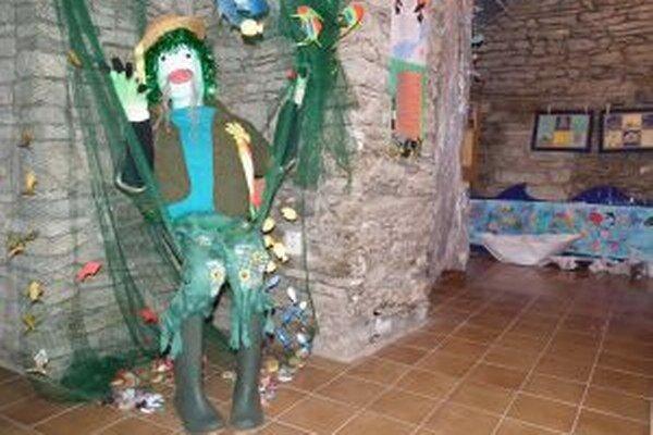 Výstavu v Oravskej galérii stráži vodník.