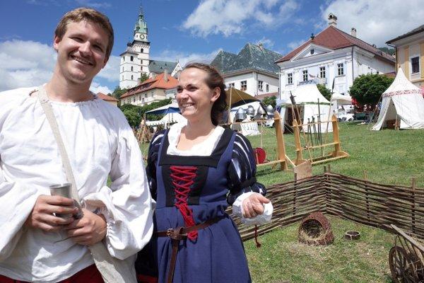 V centre Kremnice vyrástol historický tábor.